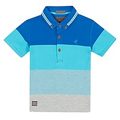 RJR.John Rocha - Boys' blue colour block polo shirt