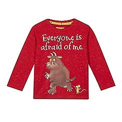 The Gruffalo - Boys' red 'Gruffalo' long sleeved top