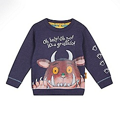 The Gruffalo - Navy marl 'Gruffalo' jumper