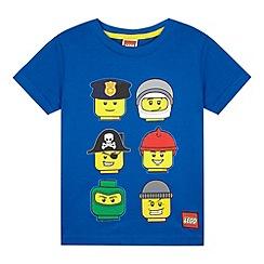 LEGO - Boys' blue 'Lego' print t-shirt
