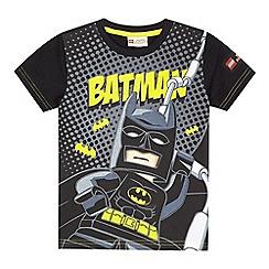 LEGO - Boys' black Lego Batman print t-shirt