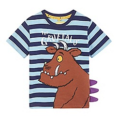 The Gruffalo - Boys' blue 'Gruffalo' applique t-shirt