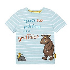 The Gruffalo - Boys' aqua 'Gruffalo' slogan print t-shirt
