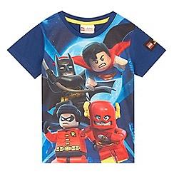 LEGO - Boys' blue 'Lego' superhero t-shirt