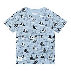 J by Jasper Conran - Boys' navy boat print t-shirt