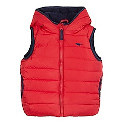 bluezoo - Boys' red quilted gilet