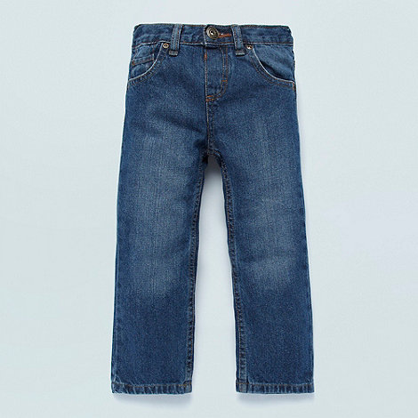 bluezoo - Boy+s blue straight leg jeans