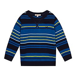 bluezoo - Boys' blue striped jumper