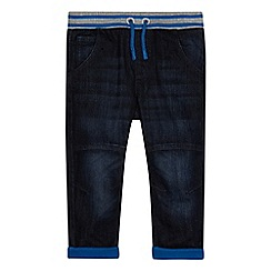 bluezoo - Boys' blue elasticated jeans