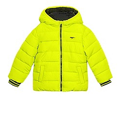 bluezoo - Boys' lime shower resistant coat