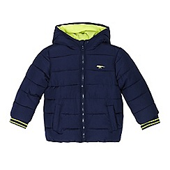 bluezoo - Boys' navy shower resistant coat