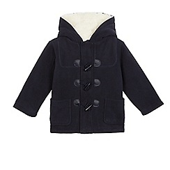 bluezoo - Boys' navy fleece lined coat