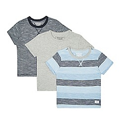 bluezoo - Boys' pack of three assorted striped t-shirts