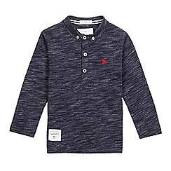 J by Jasper Conran - Boys' navy space dye polo shirt