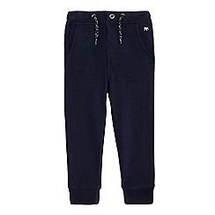 J by Jasper Conran - Boys' navy chino jogging bottoms