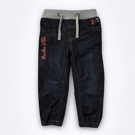 RJR.John Rocha - Designer boy+s navy cuffed jeans