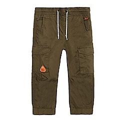 Mantaray - Boys' khaki cargo trousers