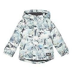 Mantaray - Boys' light green arctic print coat