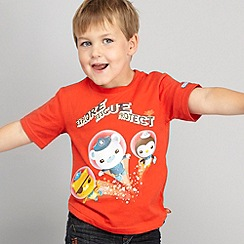 Octonauts - Boy's red 'Octonauts' top