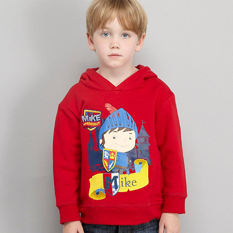 Mike the Knight - Boy+s red +Mike the Knight+ hoodie