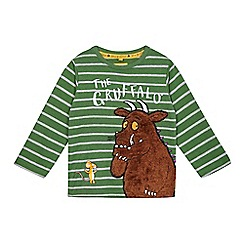 The Gruffalo - Boys' green Gruffalo applique t-shirt