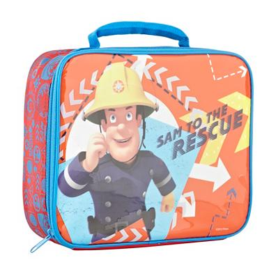 Boy's red 'Fireman Sam' lunch box