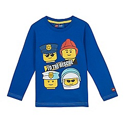LEGO - Boys' blue 'LEGO to the rescue' top