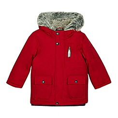 J by Jasper Conran - Boys' red 3-in-1 parka jacket