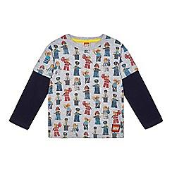LEGO - Boys' grey lego print t-shirt