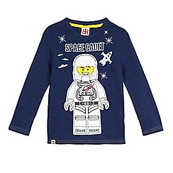 LEGO - Boys' navy 'Space Cadet' print glow in the dark t-shirt