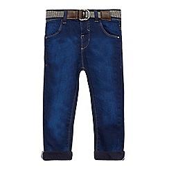 J by Jasper Conran - Boys' blue belted jeans