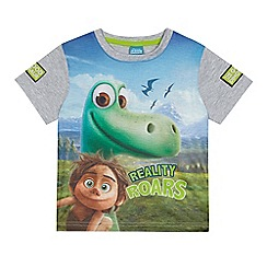 Disney - Boys' multi-coloured 'Good Dinosaur' print t-shirt