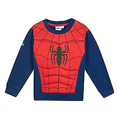 Spider-man - Boys' red 'Spider-Man' print sweater
