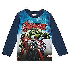 The Avengers - Boys' blue 'Avengers' print top