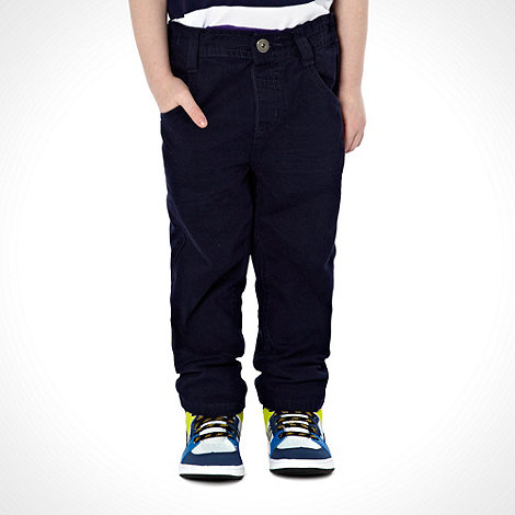 bluezoo - Boy+s plain navy jeans