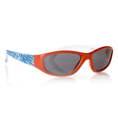 bluezoo - Boy+s orange hibiscus arm sunglasses