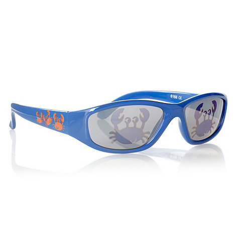 bluezoo - Boy+s blue crab sunglasses