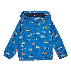 bluezoo - Boys' blue car print jacket