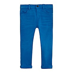 bluezoo - Boys' blue rolled-up jeans