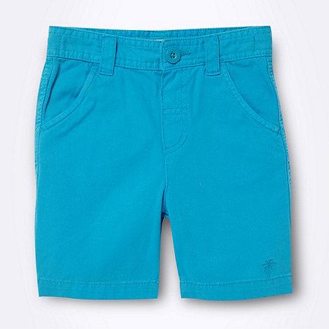 bluezoo - Boy+s blue chino shorts