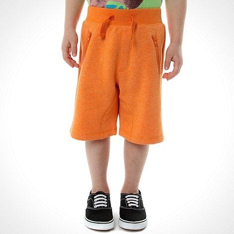 bluezoo - Boy+s orange jersey shorts