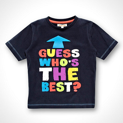 bluezoo - Boy+s dark blue +The Best+ top