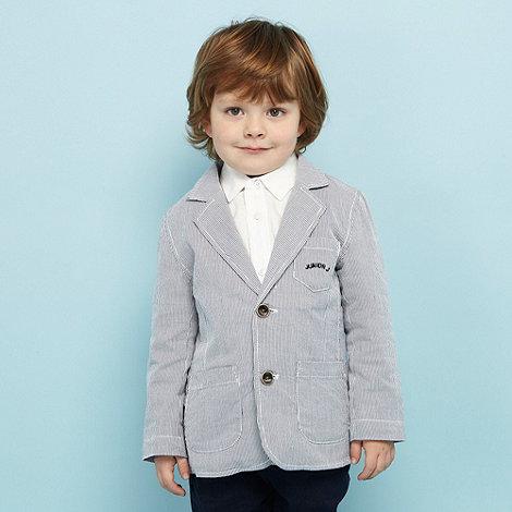 J by Jasper Conran - Designer Boy+s blue striped jacket