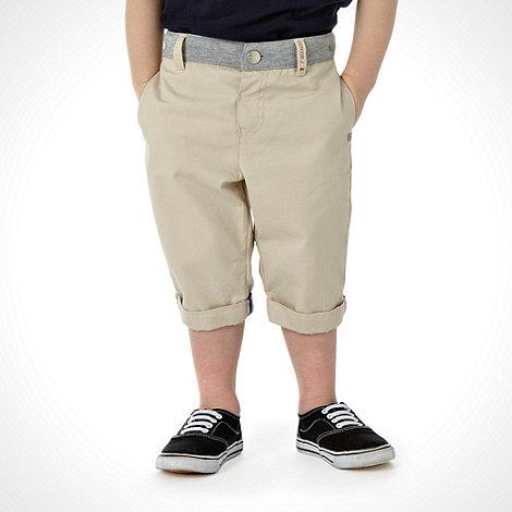 J by Jasper Conran - Designer boy+s beige chino shorts