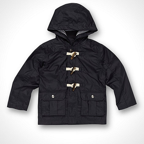 J by Jasper Conran - Designer boy+s navy two pocket coat