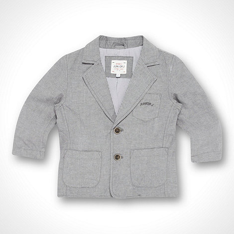 J by Jasper Conran - Designer boy+s grey chambray blazer