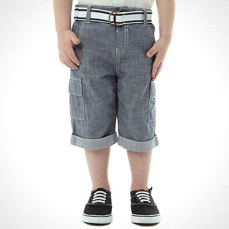 J by Jasper Conran - Designer boy+s navy denim shorts