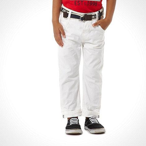 J by Jasper Conran - Designer boy+s white jeans