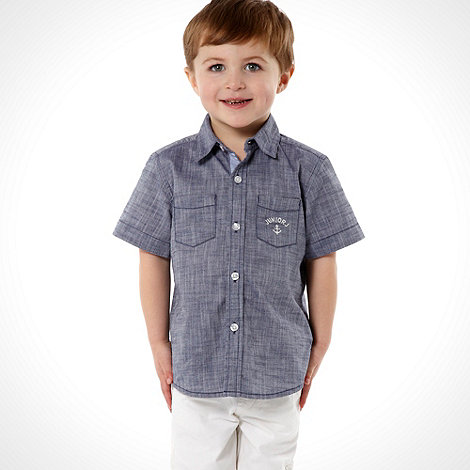 J by Jasper Conran - Designer boy's blue chambray shirt