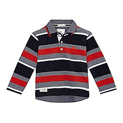 J by Jasper Conran - Boys' multi-coloured stripe polo top